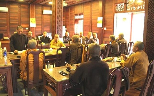 Đắk Lắk: Ban Thường trực Ban Trị sự Phật giáo tỉnh họp, triển khai Phật sự ảnh 1