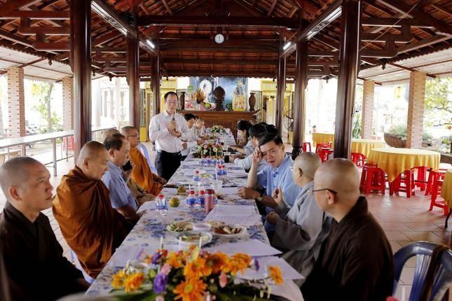 Bình Phước: Ban Trị sự Phật giáo thị xã Bình Long họp chuẩn bị Đại hội ảnh 1