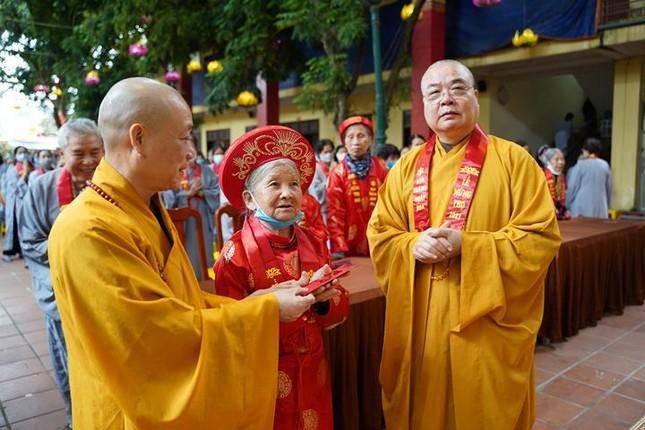 Chùa Bằng mừng thọ 1.156 Phật tử cao niên thuộc đạo tràng Pháp hoa ảnh 1