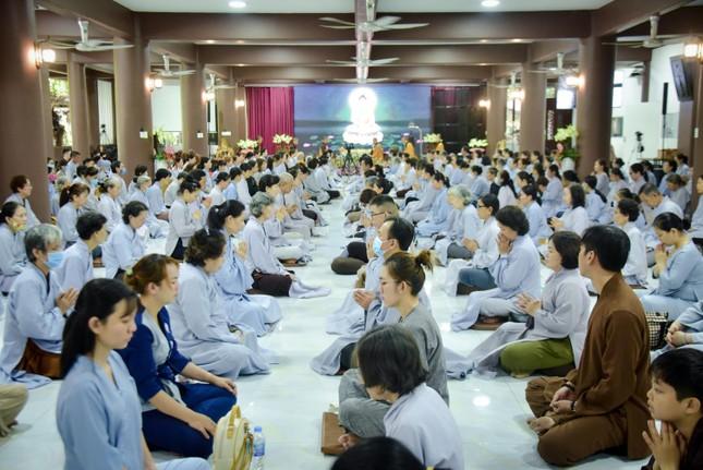 Gần 400 hành giả tham dự khóa tu đầu năm tại tu viện Khánh An ảnh 1