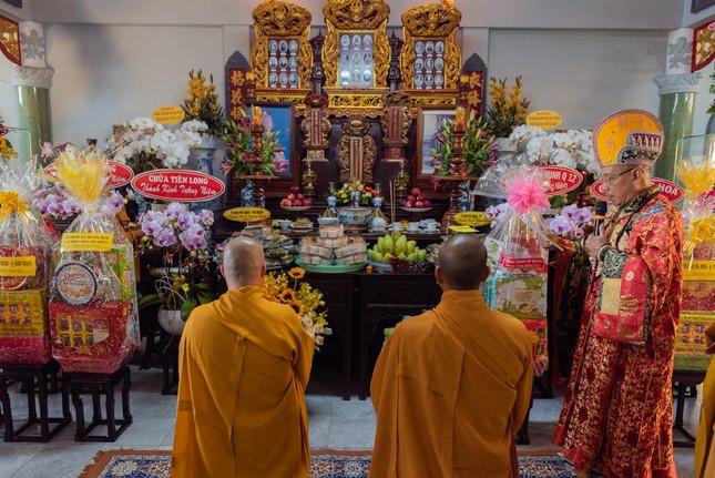 Chùa Huỳnh Kim tổ chức lễ húy nhật Hòa thượng Thích Hồng Phước ảnh 1