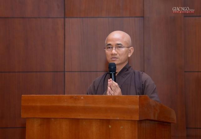 TP.HCM: Ban Trị sự họp mở rộng về Đại lễ Phật đản, 40 năm thành lập GHPGVN ảnh 4