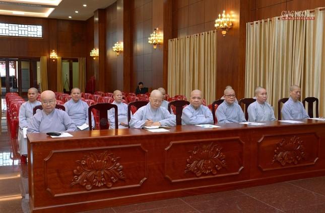 TP.HCM: Ban Trị sự họp mở rộng về Đại lễ Phật đản, 40 năm thành lập GHPGVN ảnh 10