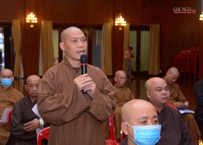 TP.HCM: Ban Trị sự họp mở rộng về Đại lễ Phật đản, 40 năm thành lập GHPGVN ảnh 7