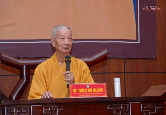 TP.HCM: Ban Trị sự họp mở rộng về Đại lễ Phật đản, 40 năm thành lập GHPGVN ảnh 1