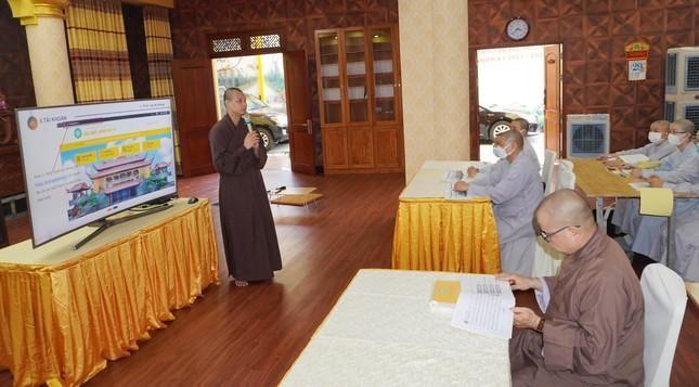 Ban Trị sự Phật giáo quận 3 triển khai công tác văn phòng hành chánh điện tử ảnh 2