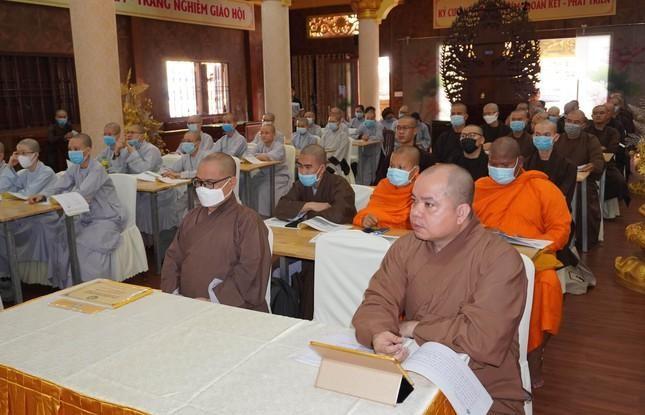 Ban Trị sự Phật giáo quận 3 triển khai công tác văn phòng hành chánh điện tử ảnh 1