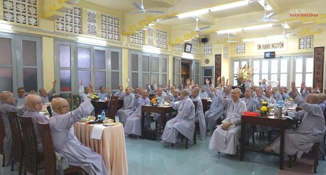 Phân ban Ni giới TP.HCM họp chuẩn bị tổ chức Đại lễ tưởng niệm Đức Thánh Tổ Ni Đại Ái Đạo ảnh 2