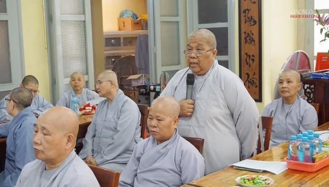 Phân ban Ni giới TP.HCM họp chuẩn bị tổ chức Đại lễ tưởng niệm Đức Thánh Tổ Ni Đại Ái Đạo ảnh 5