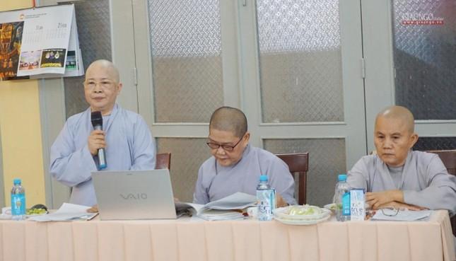 Phân ban Ni giới TP.HCM họp chuẩn bị tổ chức Đại lễ tưởng niệm Đức Thánh Tổ Ni Đại Ái Đạo ảnh 3