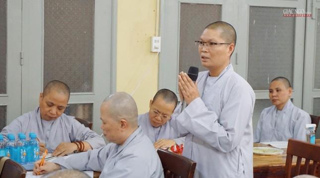 Phân ban Ni giới TP.HCM họp chuẩn bị tổ chức Đại lễ tưởng niệm Đức Thánh Tổ Ni Đại Ái Đạo ảnh 7
