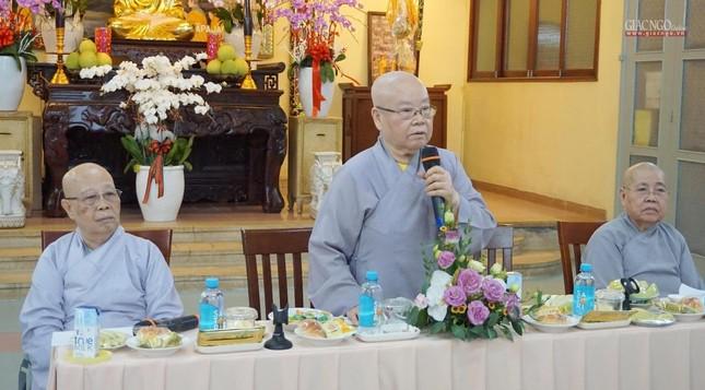 Phân ban Ni giới TP.HCM họp chuẩn bị tổ chức Đại lễ tưởng niệm Đức Thánh Tổ Ni Đại Ái Đạo ảnh 1