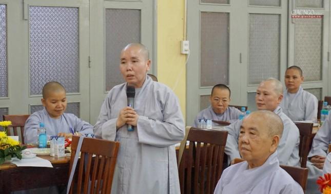 Phân ban Ni giới TP.HCM họp chuẩn bị tổ chức Đại lễ tưởng niệm Đức Thánh Tổ Ni Đại Ái Đạo ảnh 6
