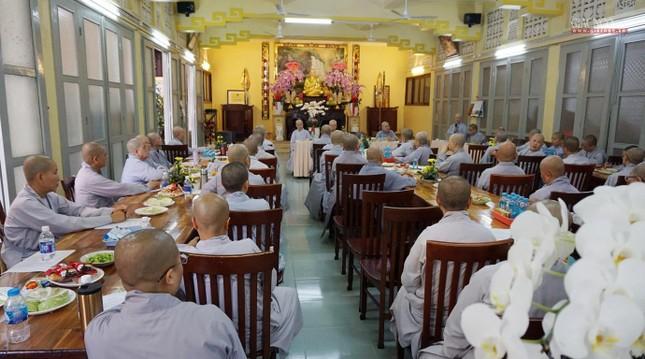 Phân ban Ni giới TP.HCM họp chuẩn bị tổ chức Đại lễ tưởng niệm Đức Thánh Tổ Ni Đại Ái Đạo ảnh 8
