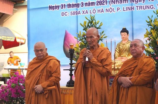 TP.HCM: Lễ khởi công trùng tu tịnh xá Ngọc Vân, thành phố Thủ Đức ảnh 1