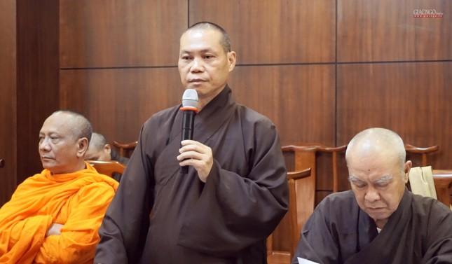 Ban Thường trực Ban Trị sự họp thảo luận, thống nhất các hoạt động Phật sự tại TP.HCM ảnh 9