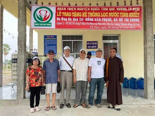 Bàn giao hệ thống máy lọc nước tinh khiết đến 3 ngôi tự viện tại Kiên Giang ảnh 1