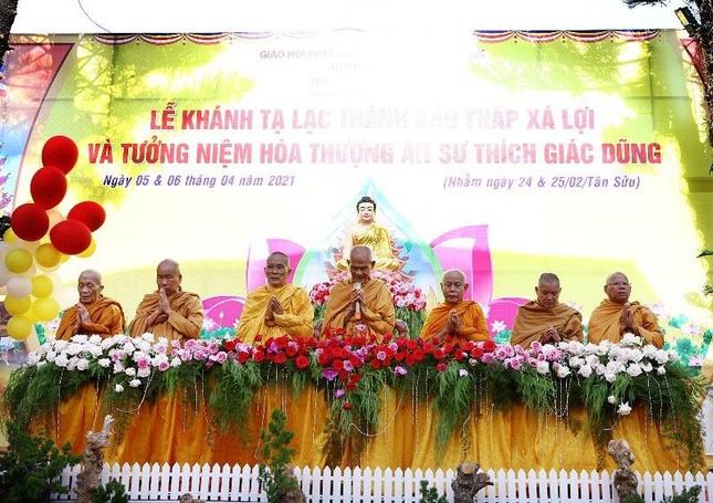Đắk Lắk: Khánh thành Bảo tháp Xá Lợi, tưởng niệm Hòa thượng Thích Giác Dũng ảnh 1