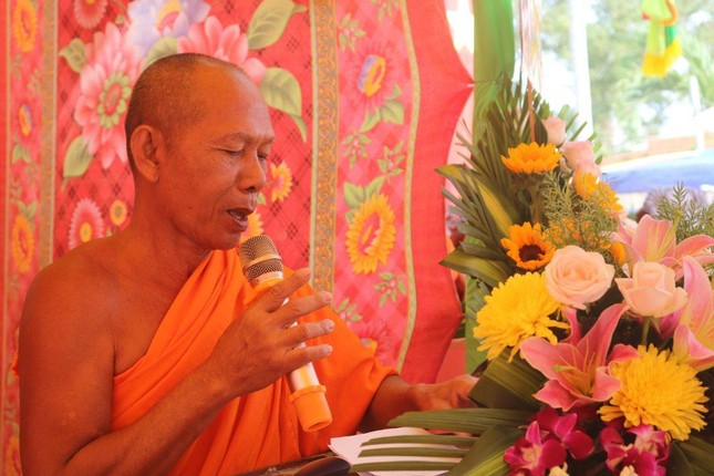 Kiên Giang: Khánh thành, đưa vào sử dụng giảng đường chùa Đồng Tranh ảnh 1