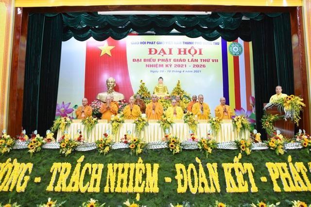 Đại hội đại biểu Phật giáo thành phố Vũng Tàu lần thứ VII ảnh 1