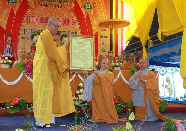 Đắk Lắk: Bổ nhiệm trụ trì niệm Phật đường Từ Nghiêm ảnh 1