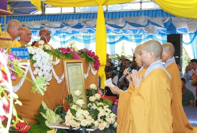 Đắk Lắk: Bổ nhiệm trụ trì niệm Phật đường Từ Nghiêm ảnh 2