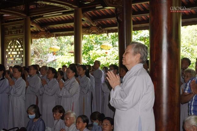 Trang nghiêm tưởng niệm lần thứ 37 cố Trưởng lão Hòa thượng Thích Trí Thủ ảnh 21