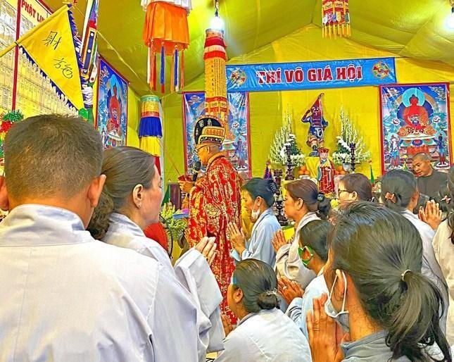 Chùa Phước Hải - huyện Cần Giờ tổ chức trai đàn cầu siêu thủy lục ảnh 1