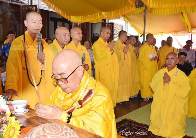Quảng Trị: Lễ cầu nguyện công trình đúc Đại hồng chung chùa Trúc Kinh ảnh 1