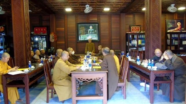 Đắk Lắk: Ban Thường trực Ban Trị sự tỉnh thảo luận các Phật sự quan trọng ảnh 1