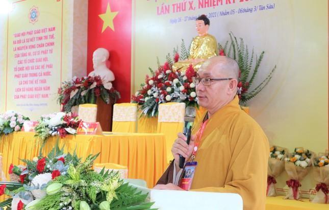 Phiên trù bị Đại hội đại biểu Phật giáo quận 11 nhiệm kỳ 2021-2026 ảnh 6