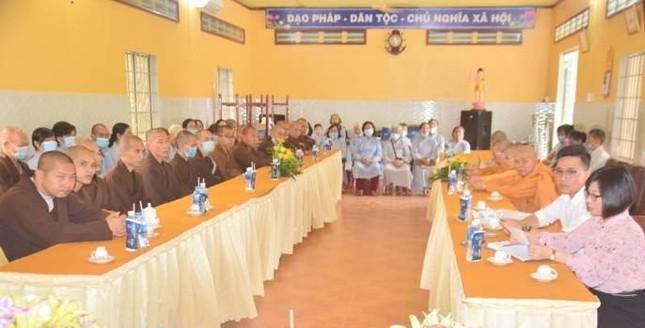 Tây Ninh: Ban Trị sự tỉnh tiếp đoàn đến tìm hiểu về an sinh xã hội ảnh 2