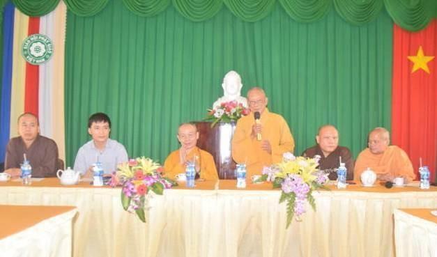 Tây Ninh: Ban Trị sự tỉnh tiếp đoàn đến tìm hiểu về an sinh xã hội ảnh 1