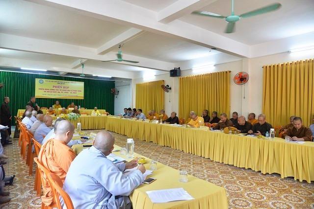 Bà Rịa - Vũng Tàu: Ban Trị sự triển khai công tác tổ chức Phật đản, An cư kiết hạ ảnh 1