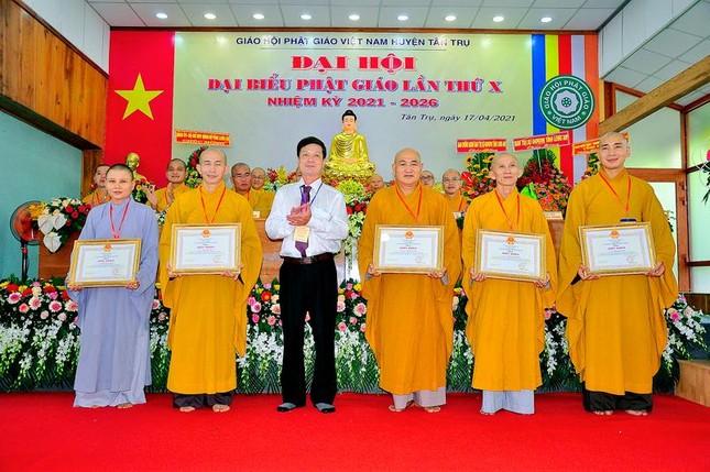 Long An: Đại đức Thích Minh Đức làm Trưởng ban Trị sự huyện Tân Trụ ảnh 4