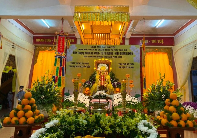 Gia Lai: Lễ nhập kim quan Trưởng lão Hòa thượng Từ Hương ảnh 4