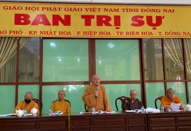 Đồng Nai: Ban Trị sự Phật giáo tỉnh triển khai Đại lễ Phật đản, An cư kiết hạ ảnh 1