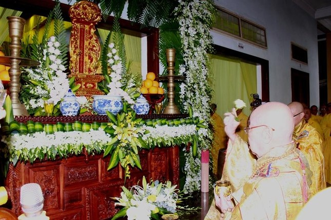 Quảng Nam: Lễ nhập kim quan Trưởng lão Hòa thượng Thích Thiện Duyên ảnh 7