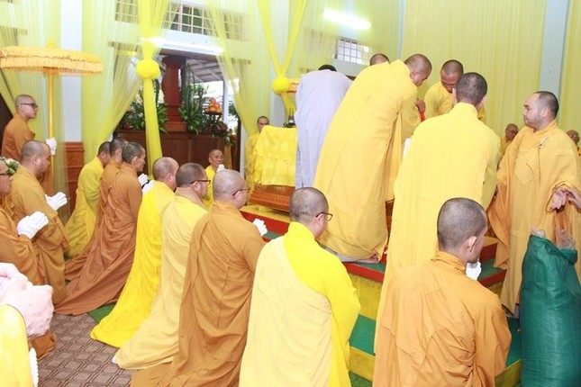 Quảng Nam: Lễ nhập kim quan Trưởng lão Hòa thượng Thích Thiện Duyên ảnh 6