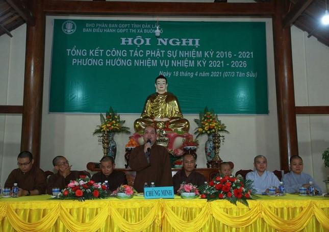 Đắk Lắk: Gia đình Phật tử thị xã Buôn Hồ tổng kết Phật sự nhiệm kỳ 2016-2021 ảnh 3