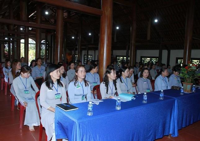 Đắk Lắk: Gia đình Phật tử thị xã Buôn Hồ tổng kết Phật sự nhiệm kỳ 2016-2021 ảnh 1