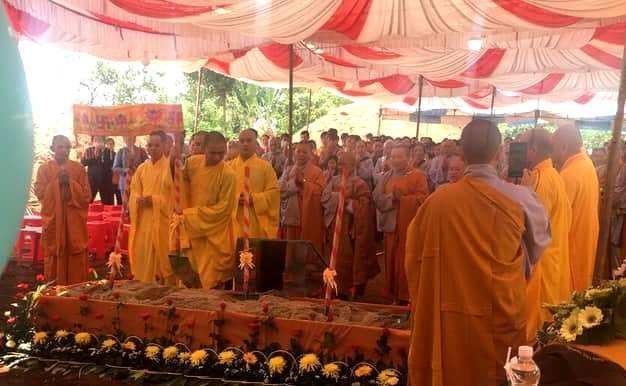 Bình Phước: Động thổ khởi công xây dựng ngôi chánh điện chùa Thanh An ảnh 2