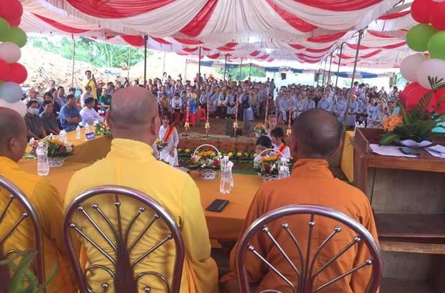 Bình Phước: Động thổ khởi công xây dựng ngôi chánh điện chùa Thanh An ảnh 1