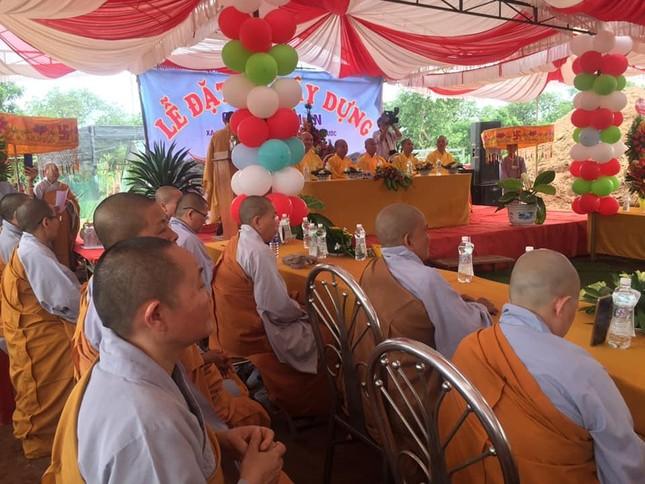 Bình Phước: Động thổ khởi công xây dựng ngôi chánh điện chùa Thanh An ảnh 3