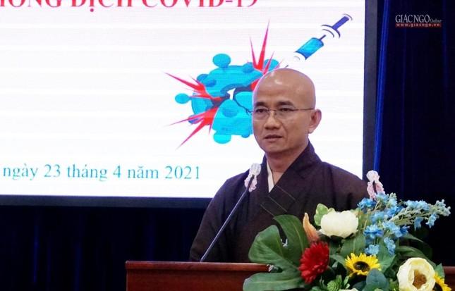 GHPGVN TP.HCM trao 1,5 tỷ đồng đóng góp mua vắc-xin Covid-19 cho người nghèo ảnh 2