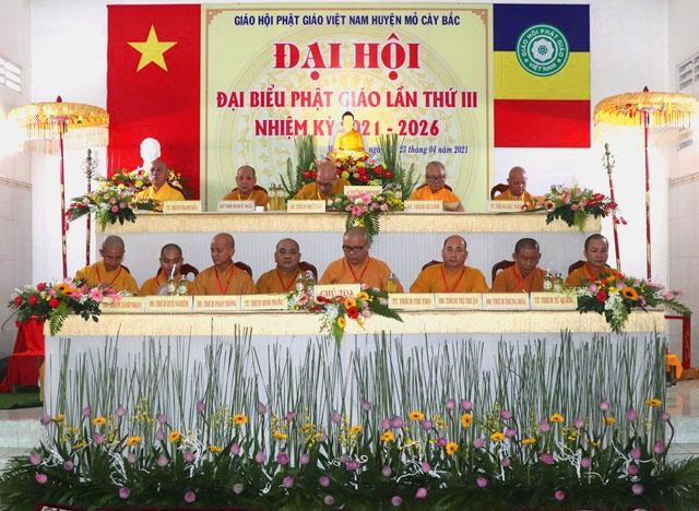 Bến Tre: Thượng tọa Thích Minh Phong tiếp tục làm Trưởng ban Trị sự huyện Mõ Cày Bắc ảnh 1
