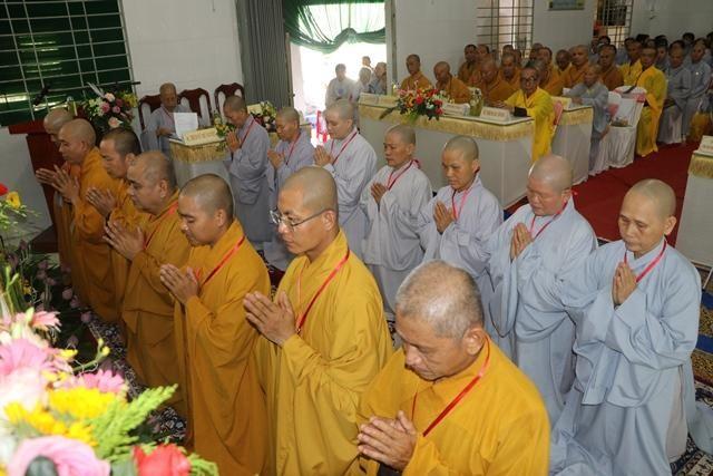 Bến Tre: Thượng tọa Thích Minh Phong tiếp tục làm Trưởng ban Trị sự huyện Mõ Cày Bắc ảnh 3