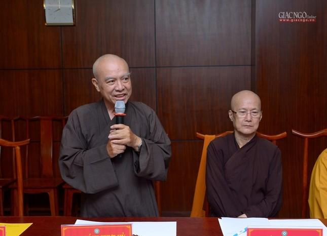 TP.HCM: Ban Thường trực Ban Trị sự thảo luận, thống nhất nhiều Phật sự quan trọng ảnh 6