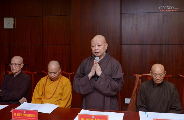 TP.HCM: Ban Thường trực Ban Trị sự thảo luận, thống nhất nhiều Phật sự quan trọng ảnh 4