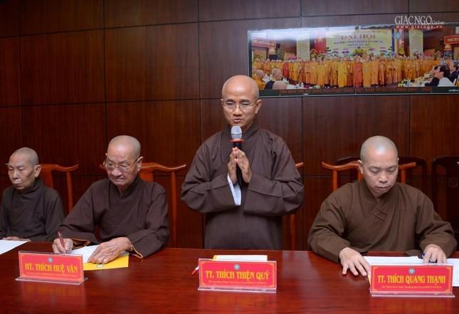 TP.HCM: Ban Thường trực Ban Trị sự thảo luận, thống nhất nhiều Phật sự quan trọng ảnh 2